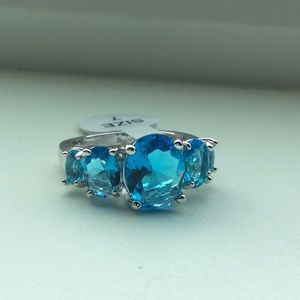 💙 Stunning blue Topaz in 925 Sterling!💙